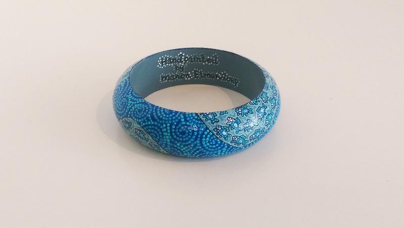 armband ocean blue maat large manon elmendorp artworks. Black Bedroom Furniture Sets. Home Design Ideas